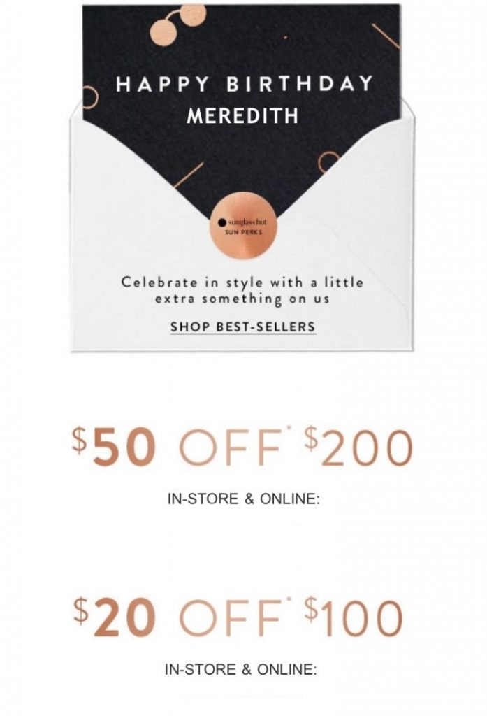 Ulta Sign Up For Their Rewards Program And Get Double Points During Your Birthday Month As Well A Free Gift